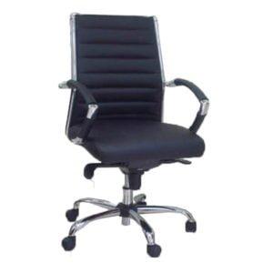 כסא מנהלים שי גב בינוני