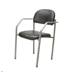 כסא אירוח דגם רקפת עם ידיות